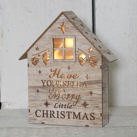 Christmas led house