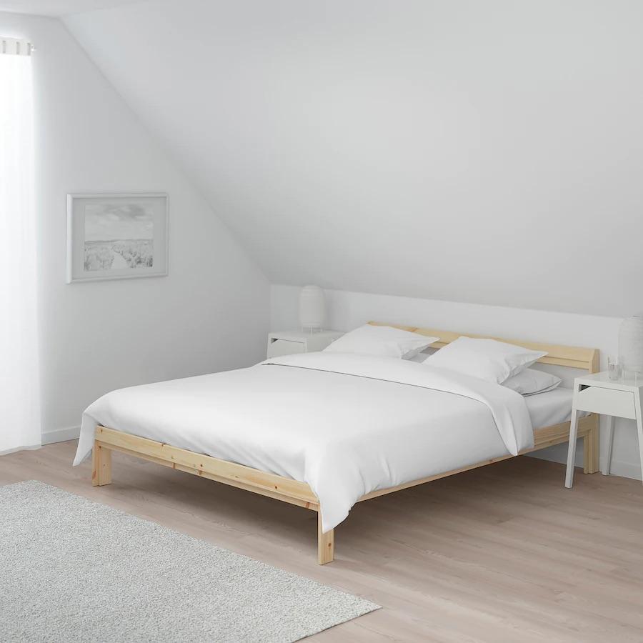 Ikea bed frame + bed base