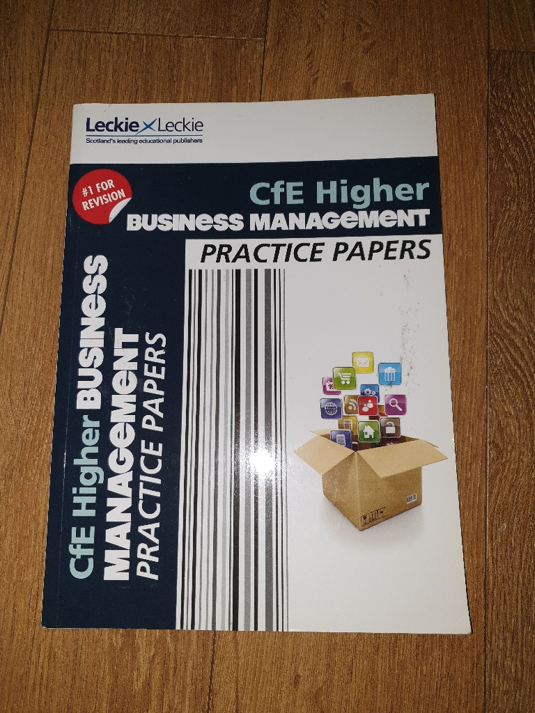 Higher Business Management practice papers and successful guide