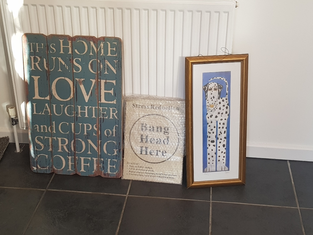 Retro/rustic signs
