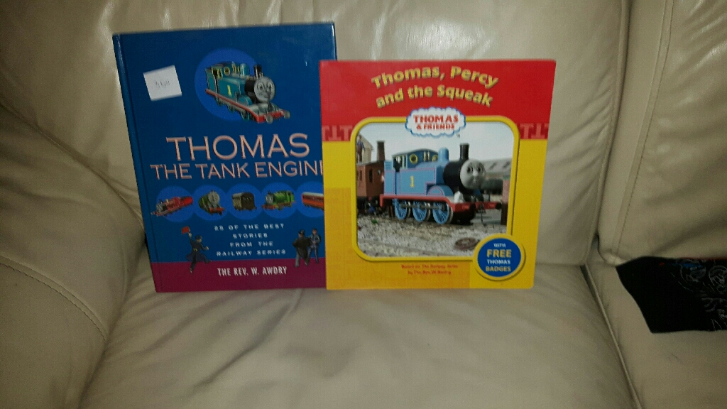 2 thomas the tank engine books