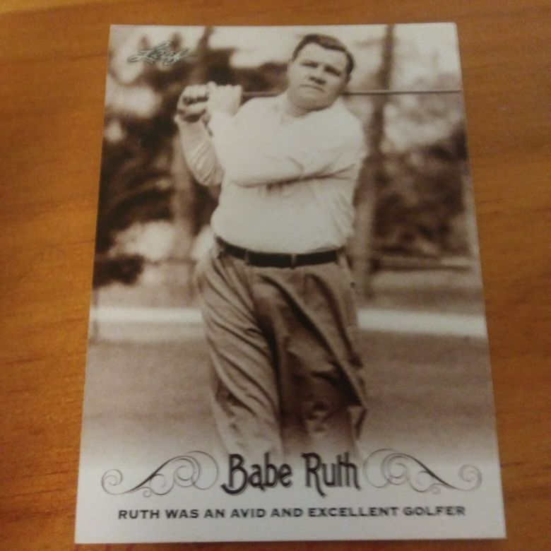 Babe Ruth cards