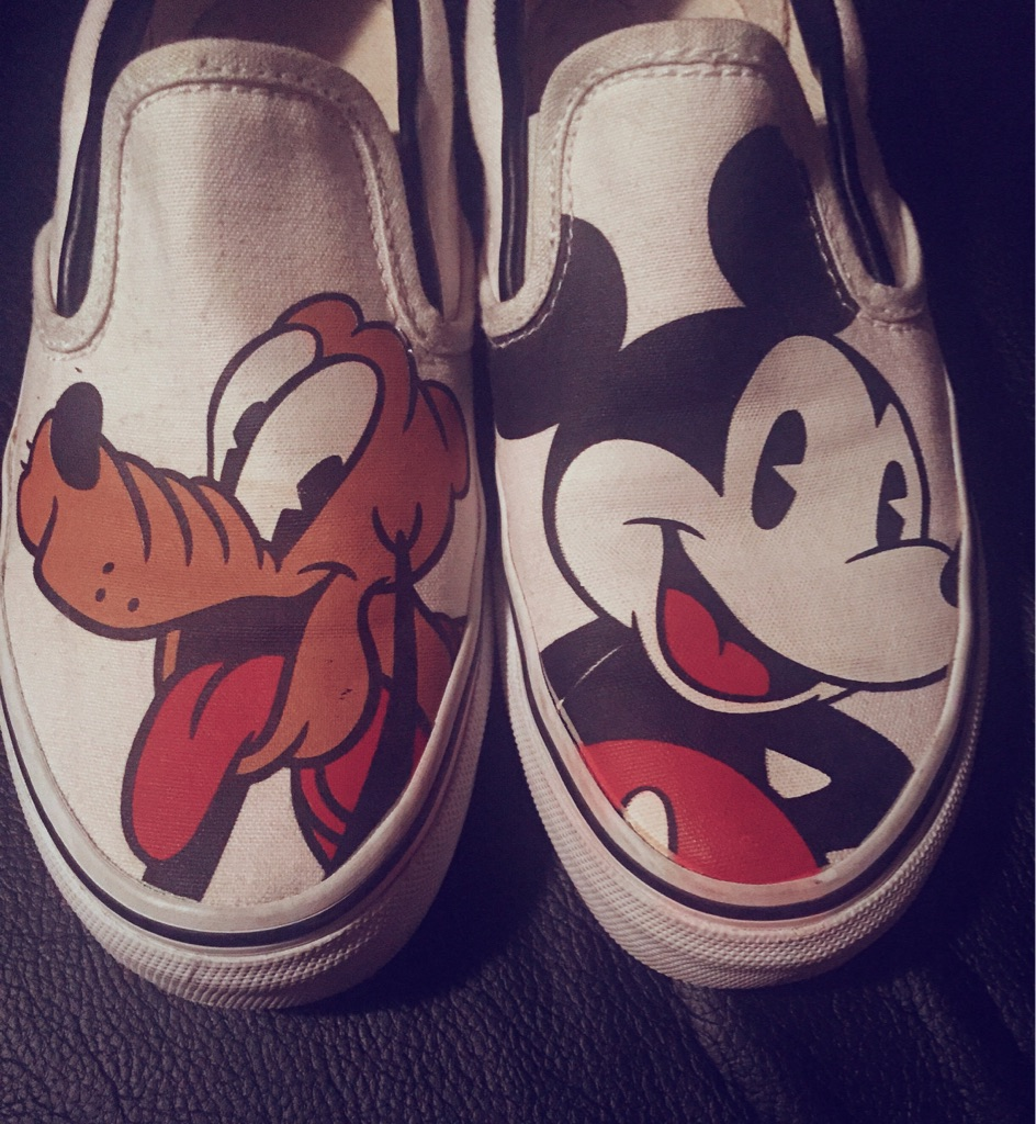 Limited edition Disney shoes
