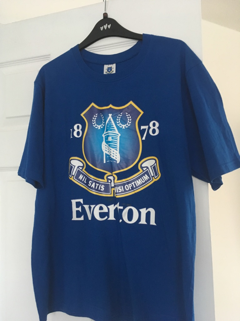 Everton official T-shirt