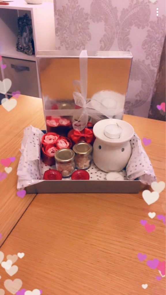 Lovely candle wax melts sets