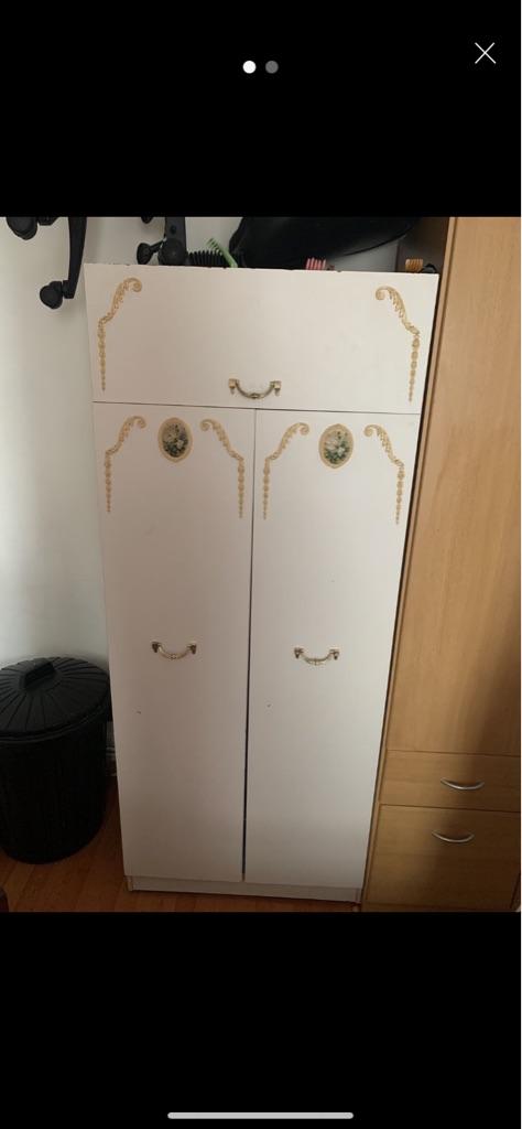 White single wardrobe