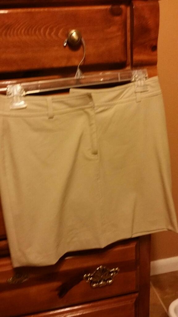 Inc beige skirt, size 8