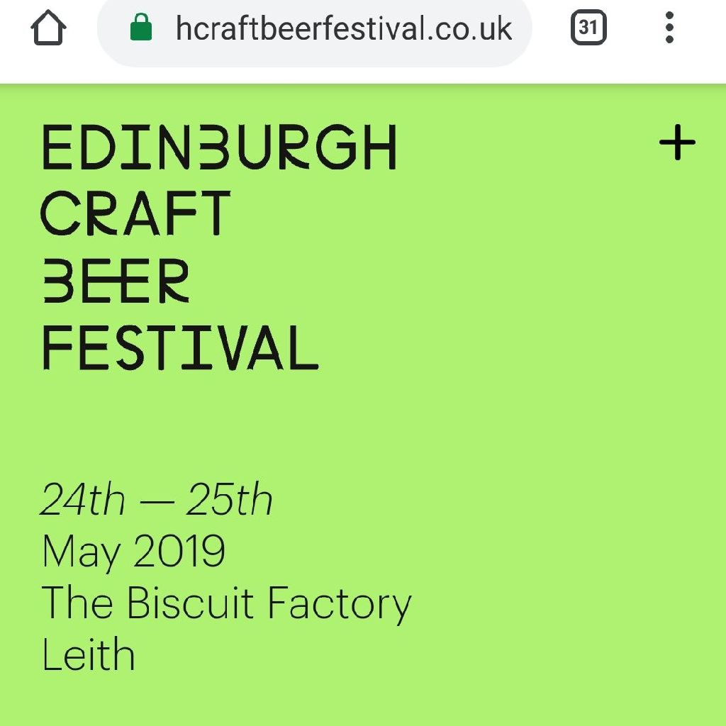 Edinburgh Craft Beer Festival Tickets
