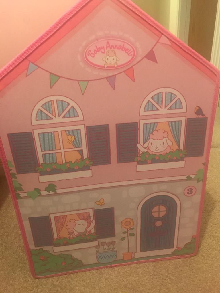 Baby Annabelle doll nursery