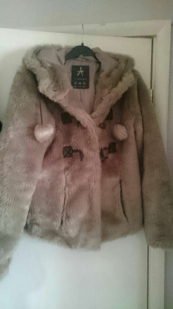 Fur coat size 8