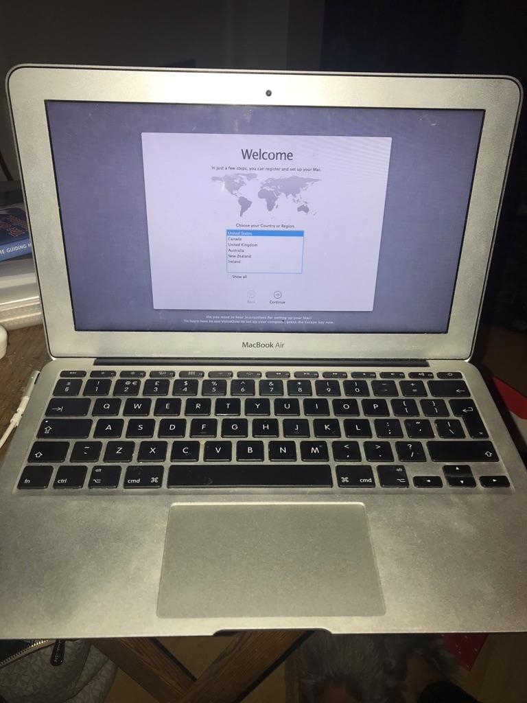 """MacBook Air 11"""" 2011"""