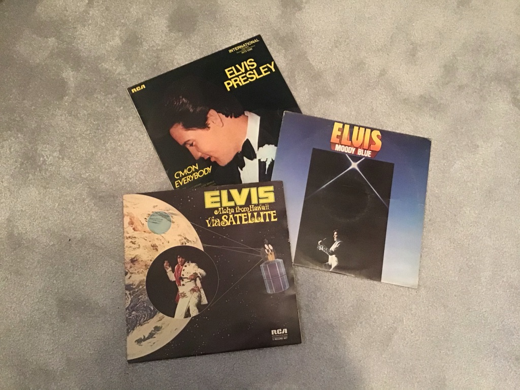 Elvis Presley Vinyl Albums
