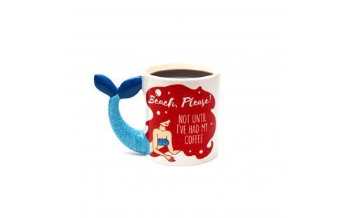Big mouth mug mermaid
