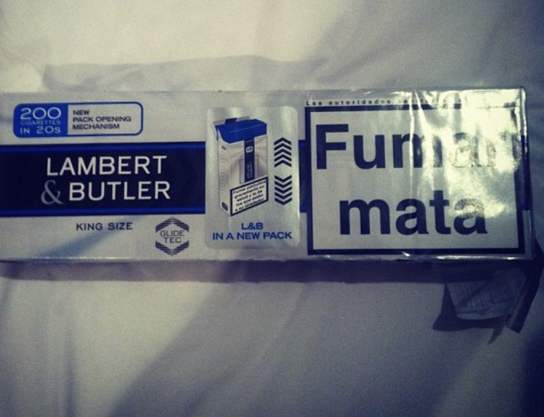 200 lambert & butler cigarettes