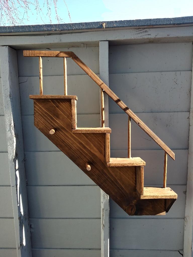 Stair Shelf coat rack