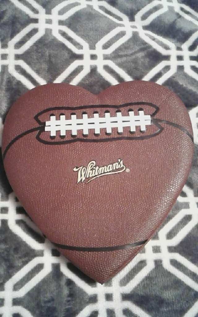 Football Valentine's day box