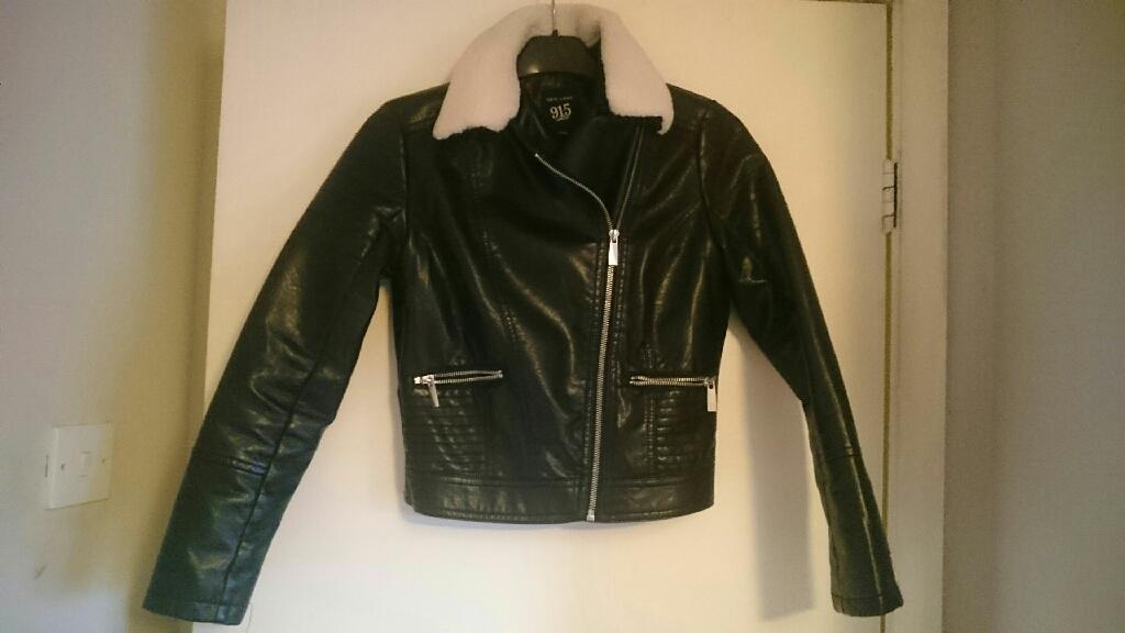 Biker jacket 10-11years