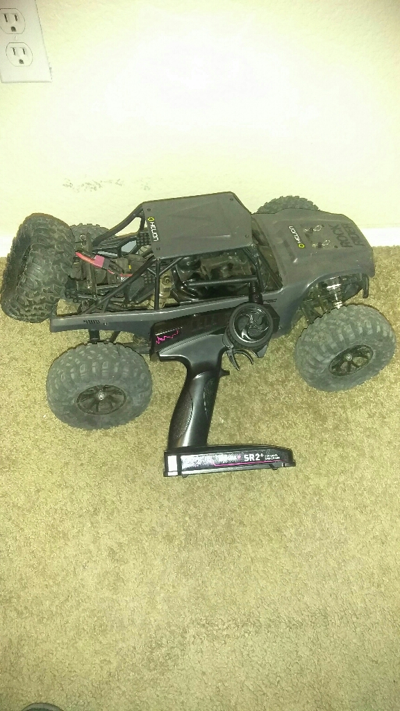 Rock Rider RC truck
