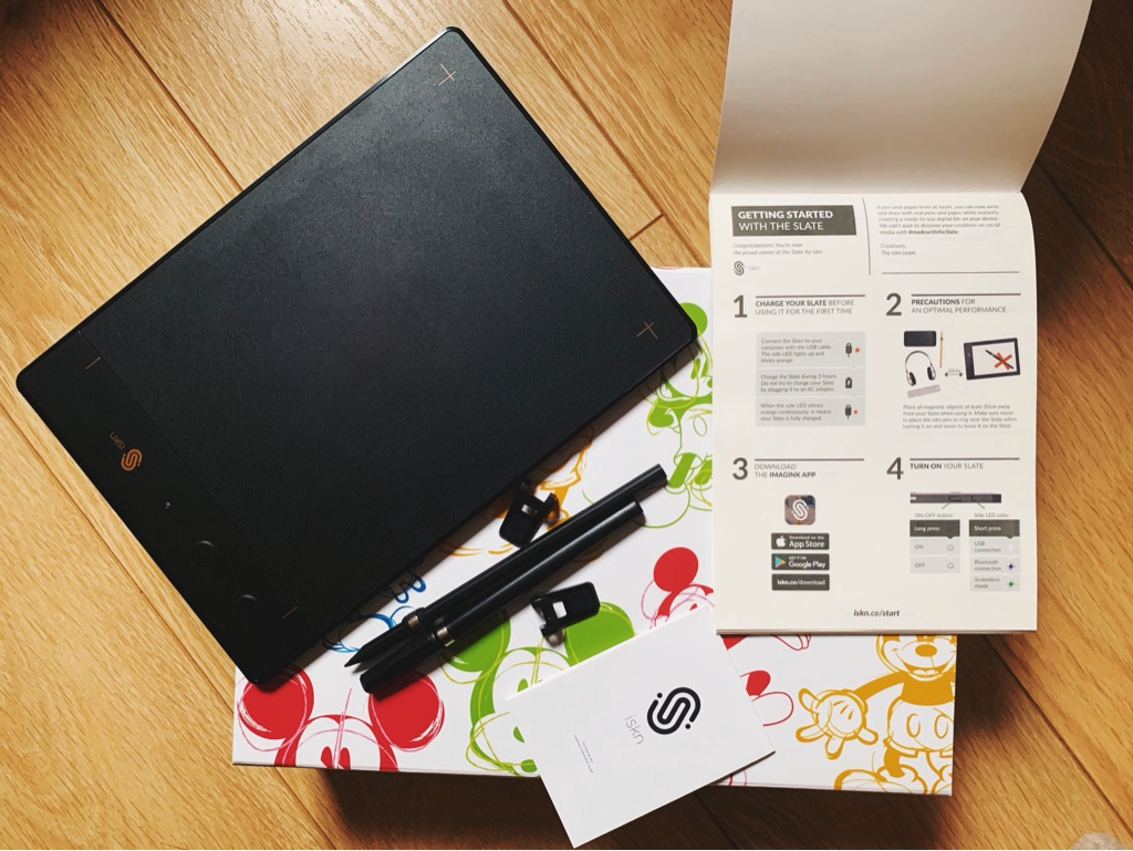 iskn The slate 2+pencil & paper graphic tablet