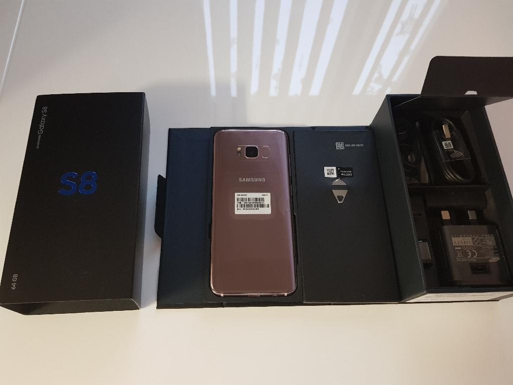 Samsungs8 rose pink 64gb
