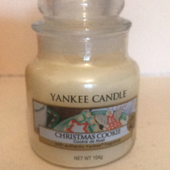Yankee candle. Christmas cookie