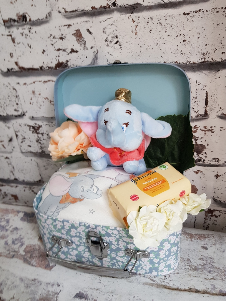 Custom made baby gift boxes