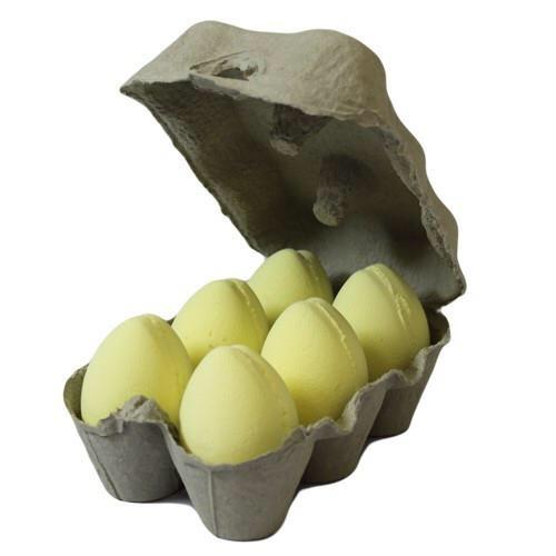 Box of 6 Bath Eggs