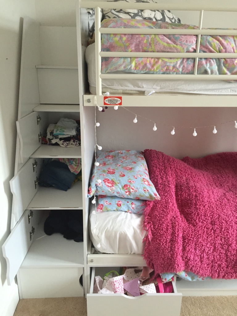 Bunk beds with storage to inc mattresses a