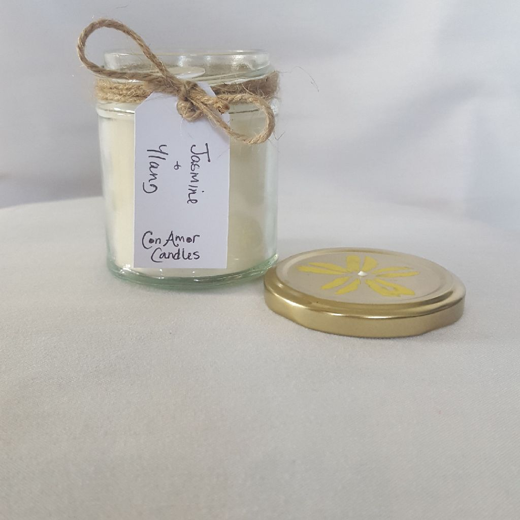 Soy jar candle