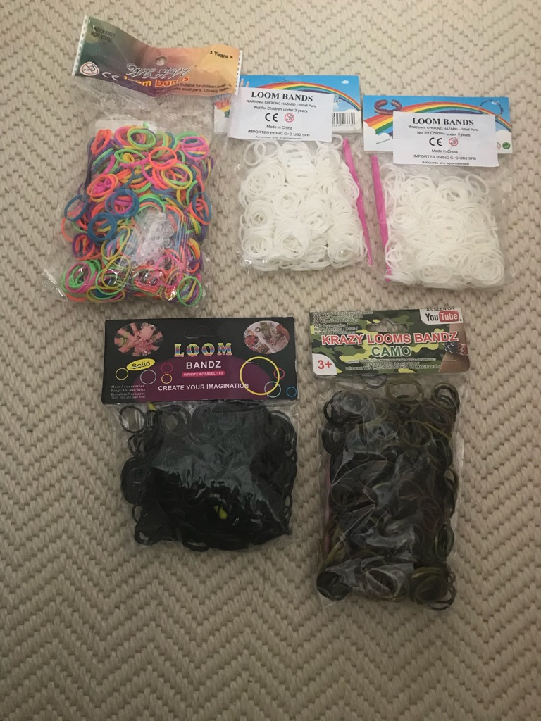 Packets Of Loom Bands