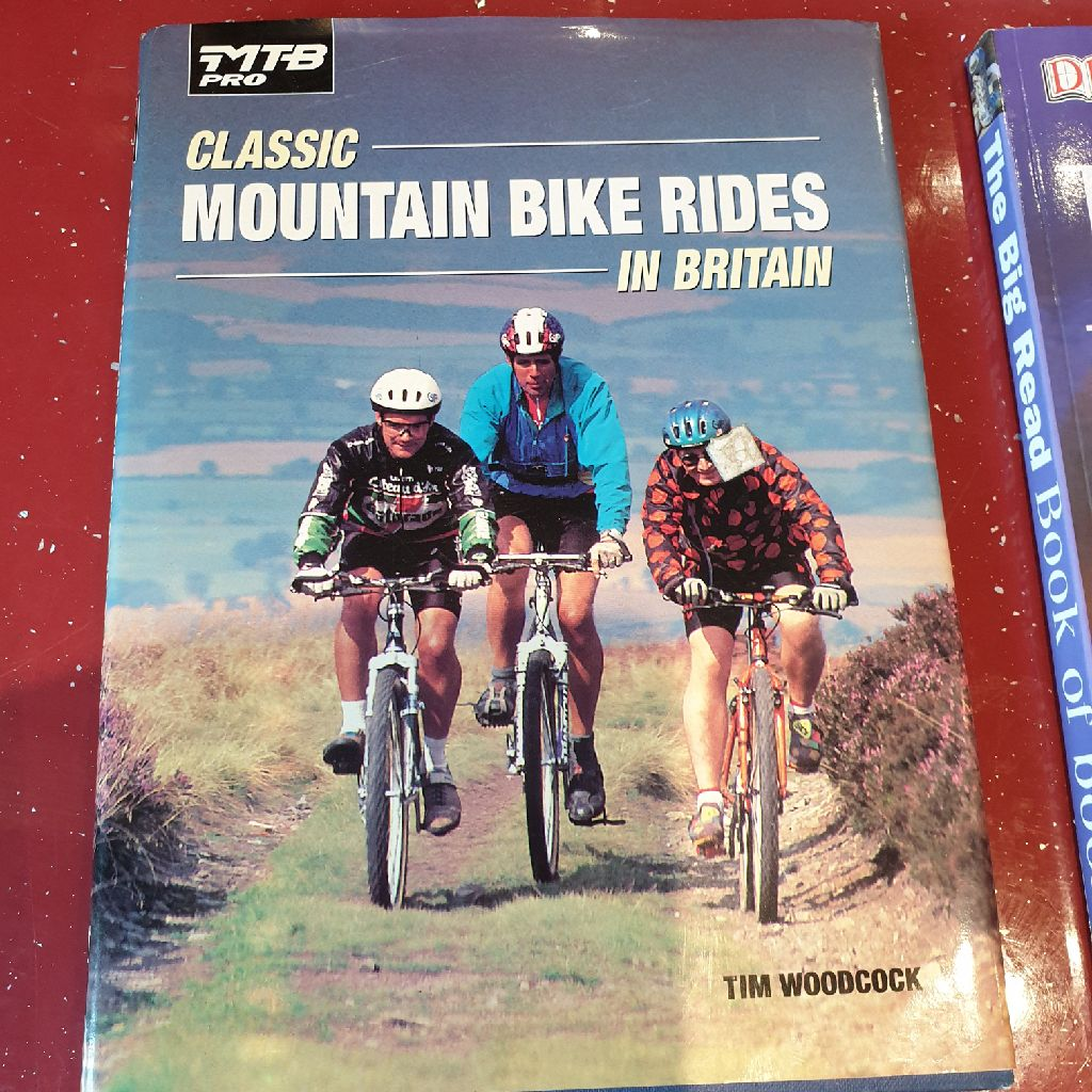Mountain bike book