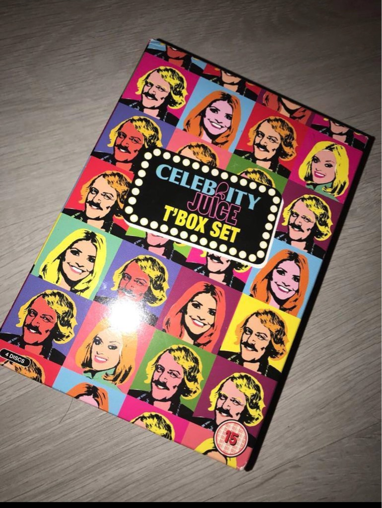 Celebrity juice boxset