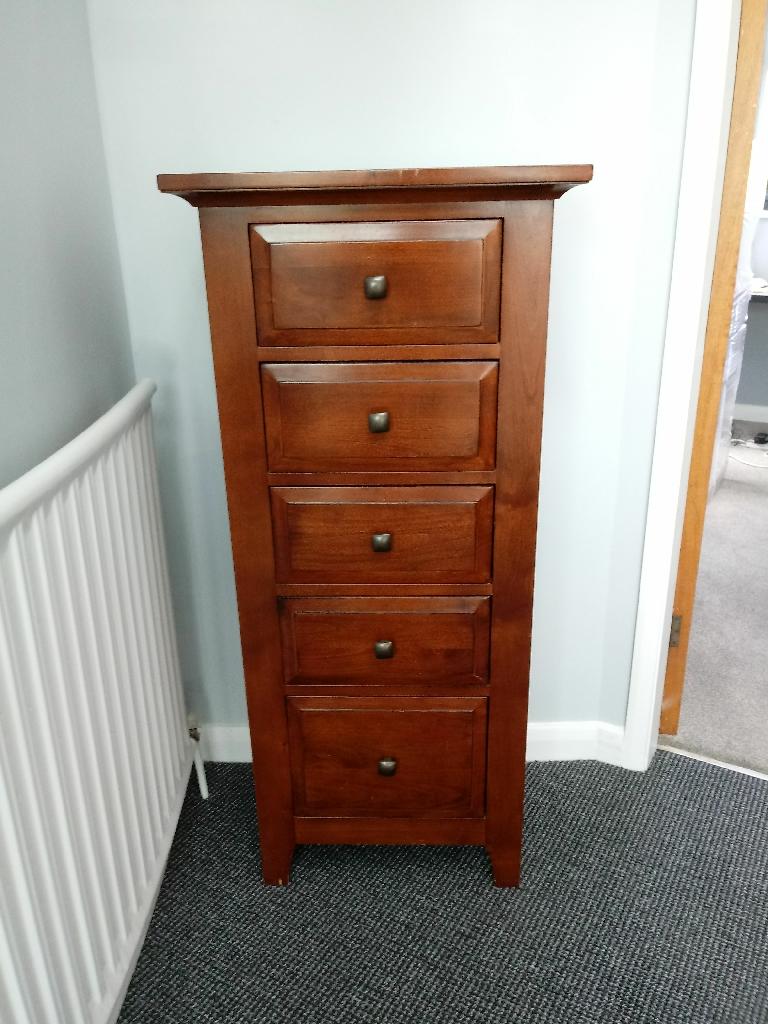 5 drawer chest/tallboy