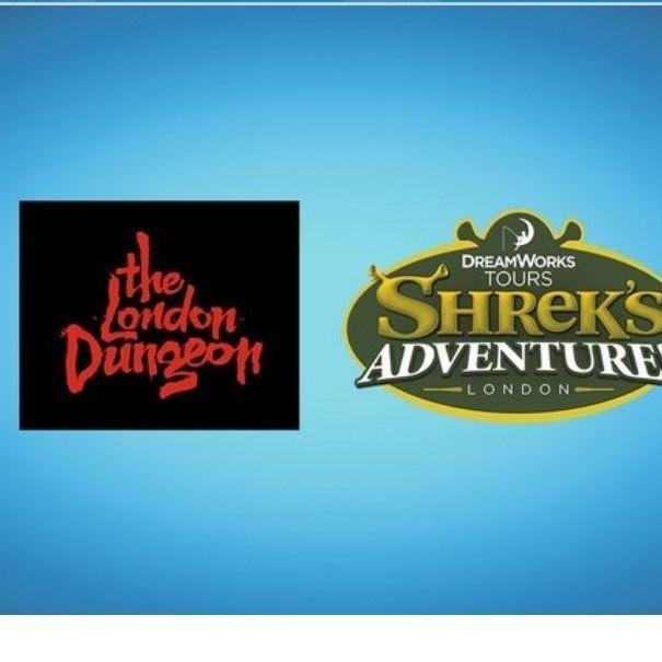 Shrek or London dungeon tickets
