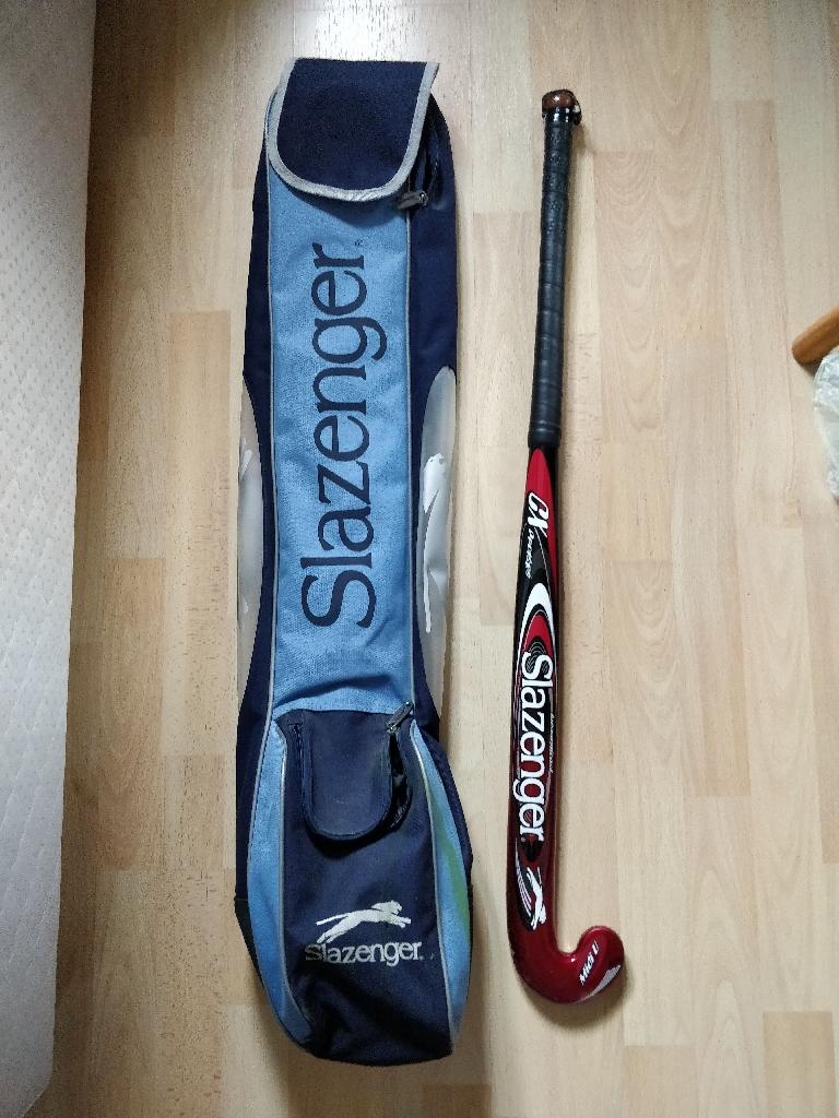 Slazenger hockey stick with bag
