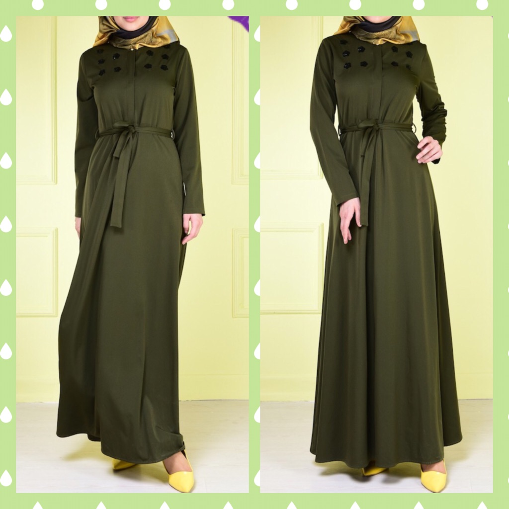 Juniper Green Dress
