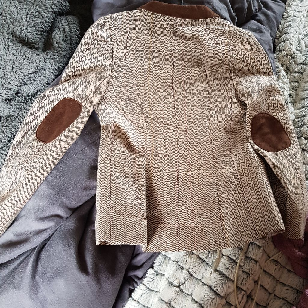 Tu kids tweed jacket age 7-8 yrs
