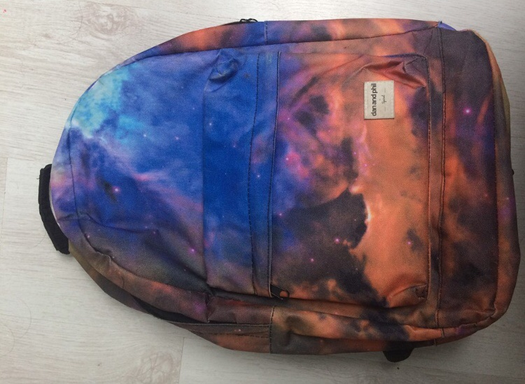 Authentic Dan and Phil galaxy backpack