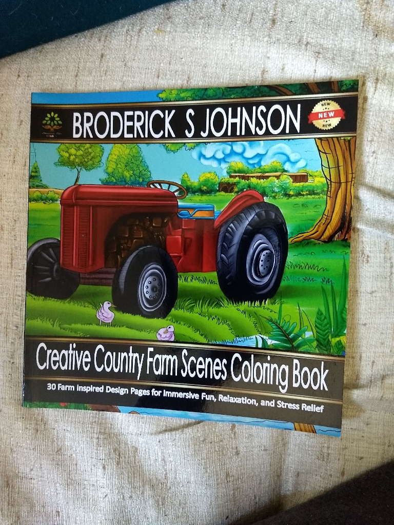 Small coloring book