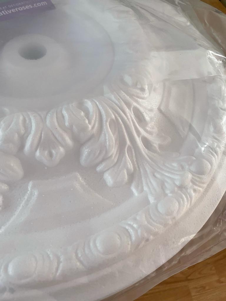 polystyrene ceiling rose