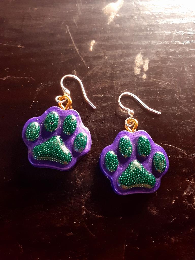 Paw earrings 🐾🐾