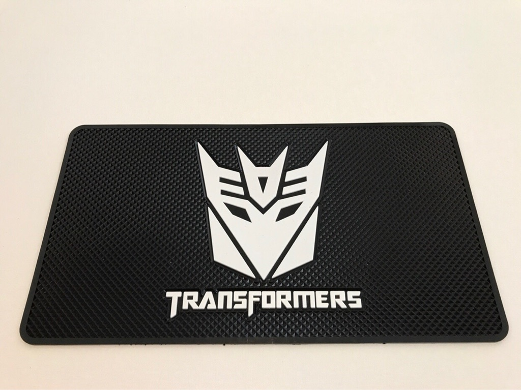 Car Non Slip Mats Gift Transformers SF Science Fiction Action Robots Revenge Film Movie Autobots Decepticons Tuning Sport Audi Mercedes BMW Volkswagen Honda Ford Jaguar Mazda Mini Nissan