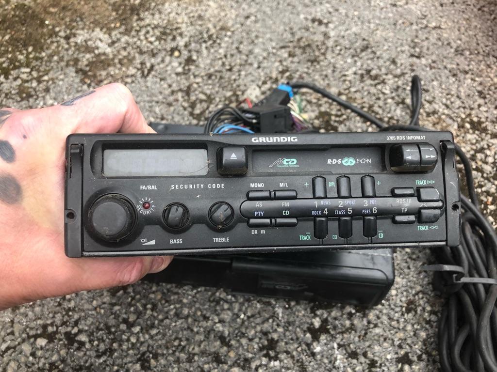 Grundig radio cassette and changer
