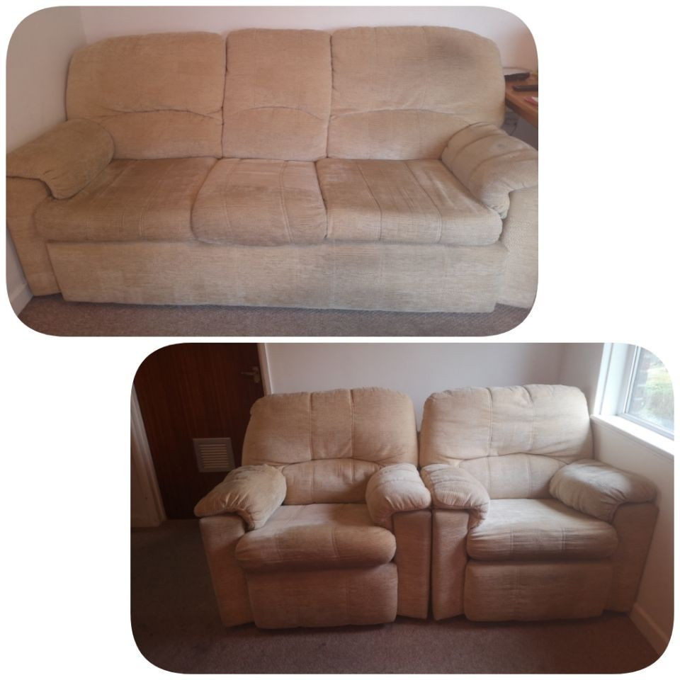 3 seater and two 2 seater sofas