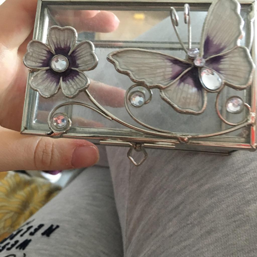 Small beautiful jewellery box