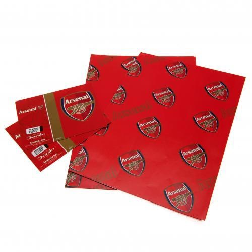 Football team gift wrap sets