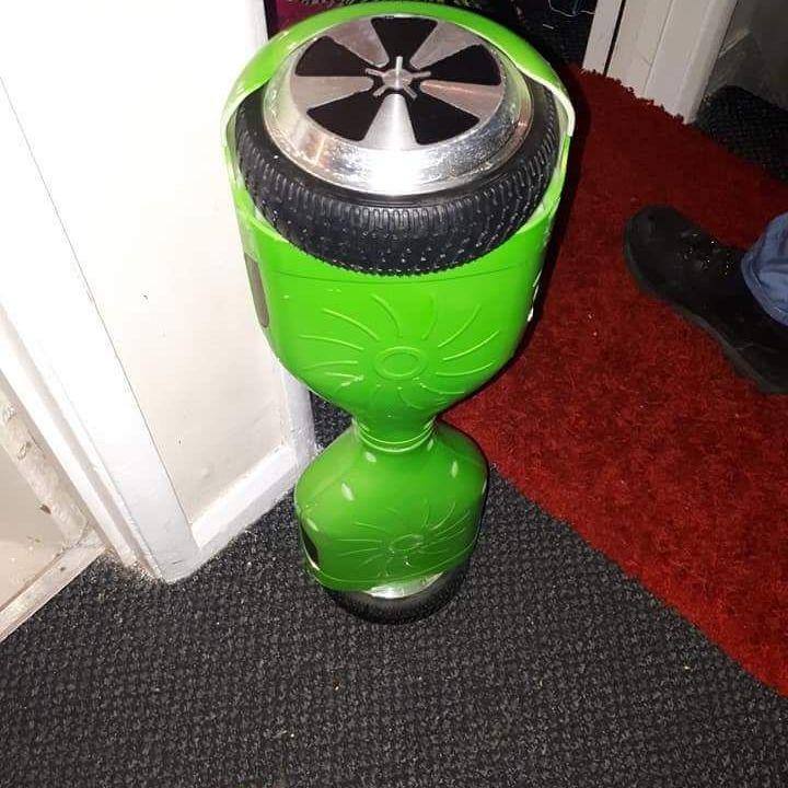Segway rowlab f1 green 5spoke