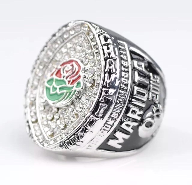 Oregon Ducks Marcus Mariota Rose Bowl Champions Ring Replica