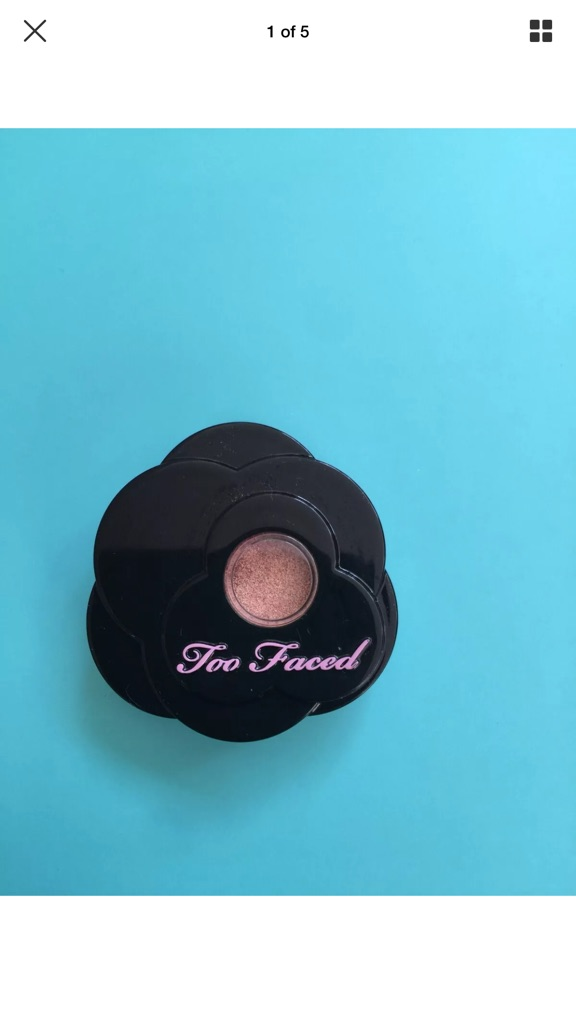 Too Faced Exotic Color Intense Eye Shadow -   Peony 1.7g New