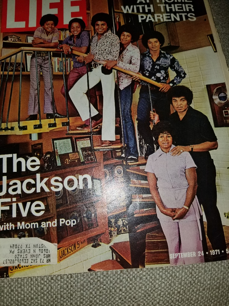 LIFE MAGAZINE SEPTEMBER  1971 THE JACKSON FIVE